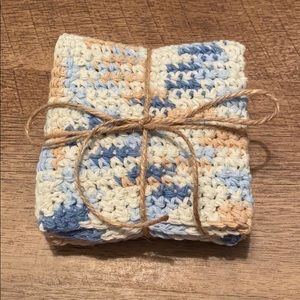 Other - New Crotched Multicolored Washcloths